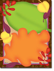 Paper So Pretty - Blank Designer Papers (Fun Fall Leaves) (DP1106)